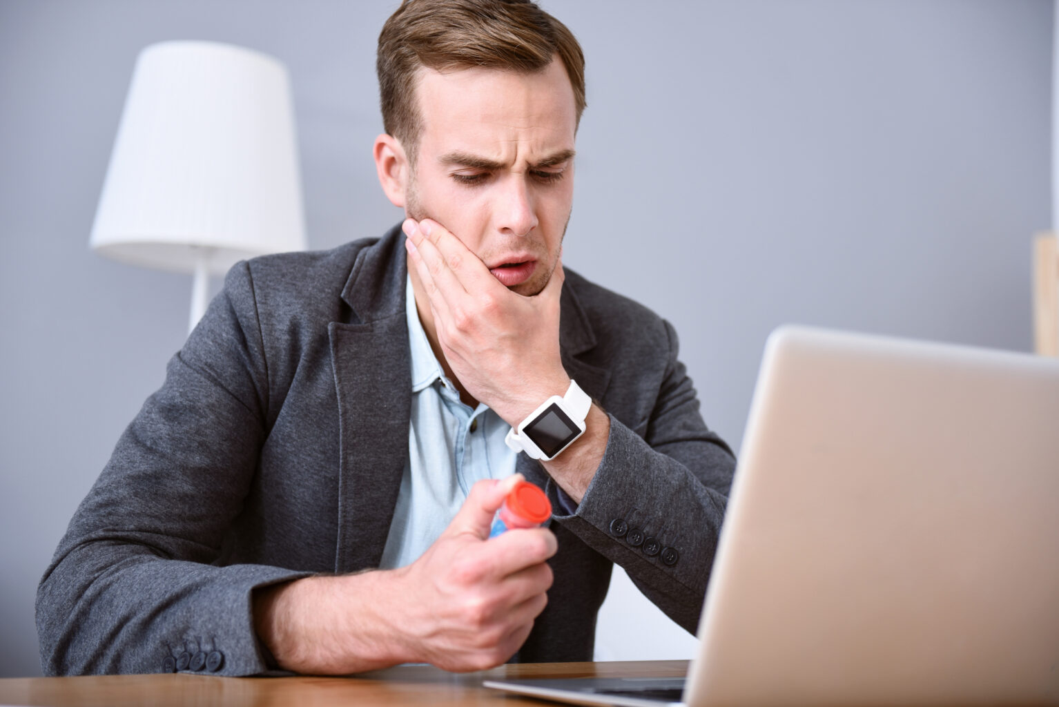 Did you know? TMJ pain can be caused by a poorly aligned bite.